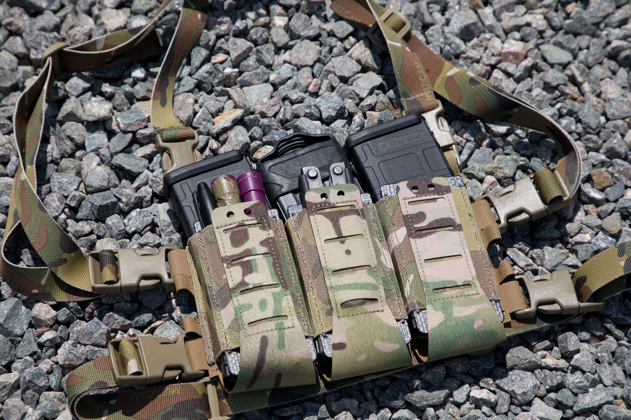 unobtaInium gear sleds placard chest rig mag pouch tactical vest