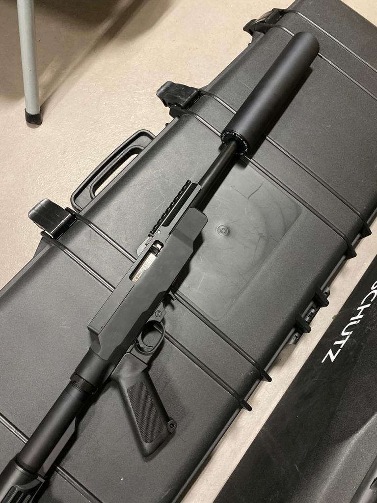 fletcher rifle works sebastian unger open top ruger 10 22 receiver 22lr rimfire