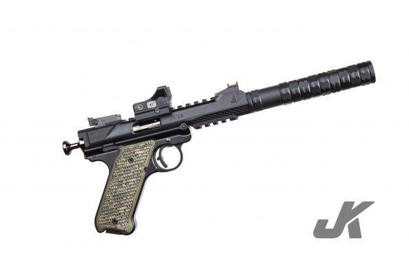 jk armament jk 105lt rimifre mst kit solvent trap suppressor silencer rimfire 22lr