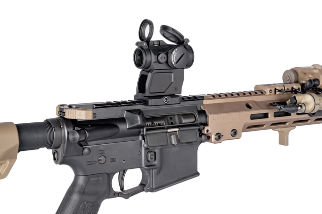 arisaka defense aimpoint micro mount t2 red dot sight rifle mount 1.93 night vision