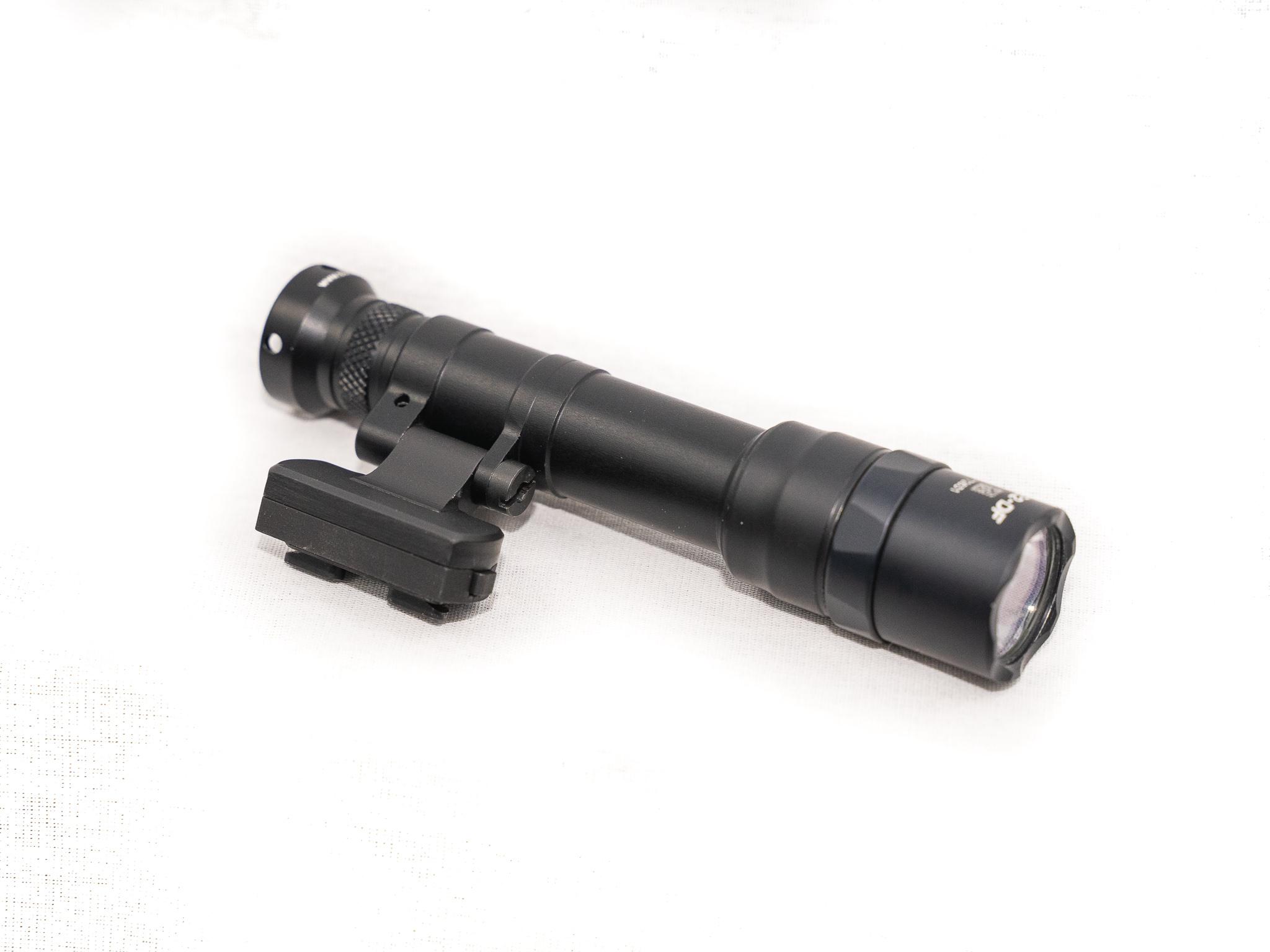 kinetic development group surefire scout light kinect qd mount weapon lights