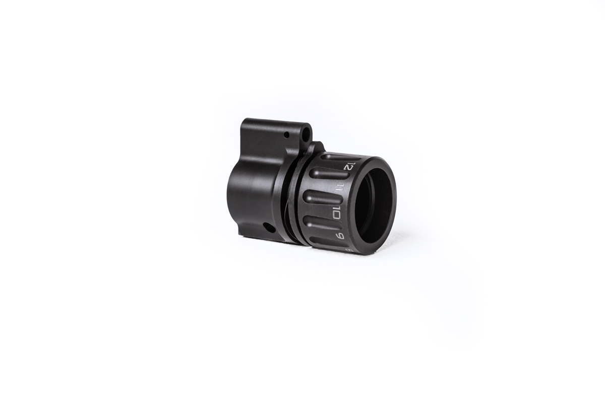 riflespeed gas control system ar-15 ar15 gas block adjustable gas reloader