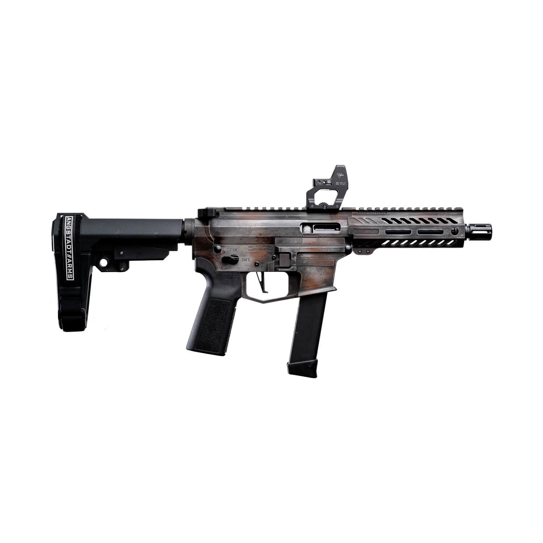 angstadt arms udp-9 mad max cerakote pistol caliber carbine 9mm