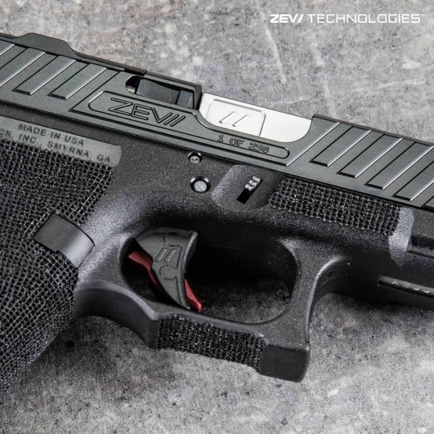 Zev Custom Glock 22 Slide - Year of Clean Water