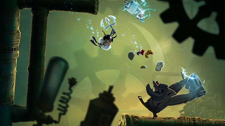Rayman Legends 20000 Lums Under The Sea Attack Of The