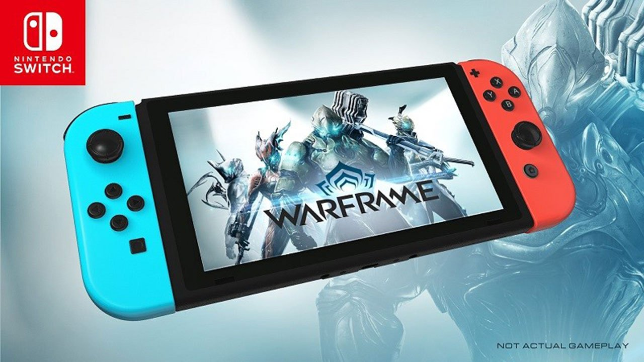 Warframe Announced For Nintendo Switch Attack Of The Fanboy