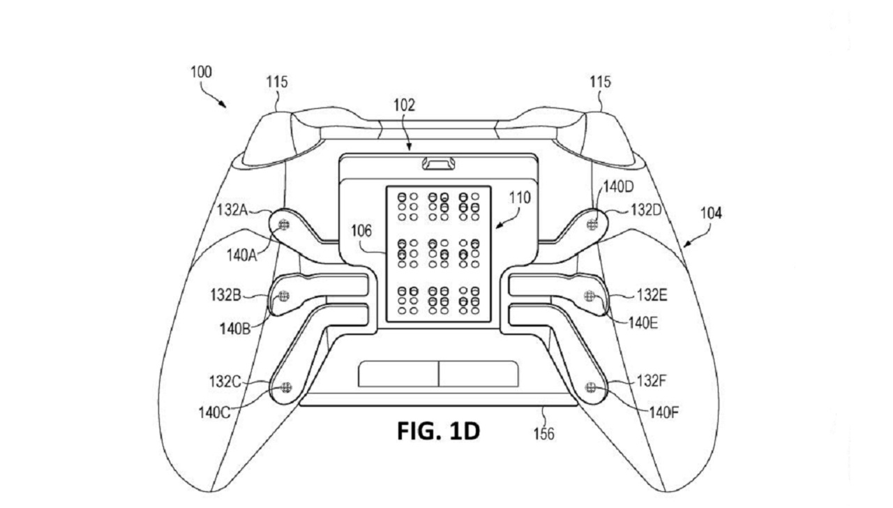 Microsoft Patents New Xbox Controller Aimed At The