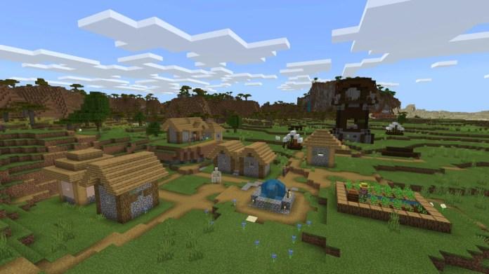 Minecraft-Village-Pillager-Outpost