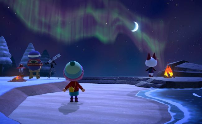 Animal Crossing New Horizons What To Do At Night