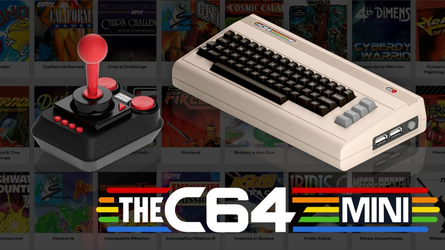 The World's Best-Selling Home Computer Is Reborn! Meet The C64 Mini!