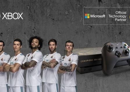 Xbox One X Real Madrid