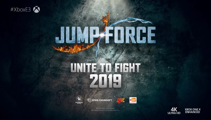 Bandai Namco Announces Jump Force Attack On Geek