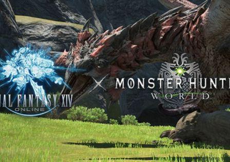 Final Fantasy Monster Hunter World