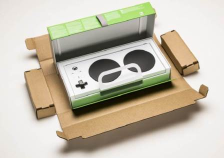 Xbox Adaptive Controller Packaging