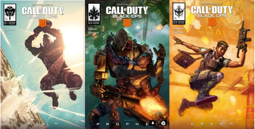 Call of Duty: Black Ops 4 Comics