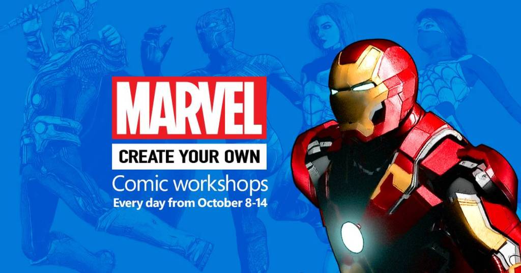 Create Your Own Comic Workshops