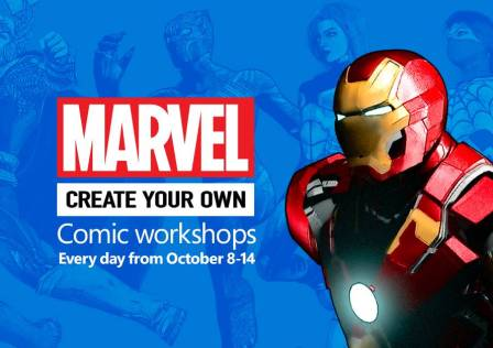 Marvel Create Your Own Comic Workshops
