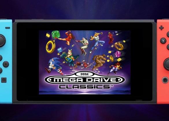 Mega Drive Classics Nintendo Switch