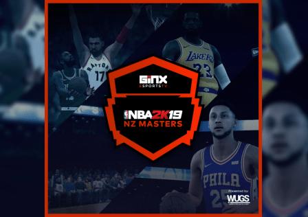 Ginx Esports TV NBA 2k19 NZ Masters