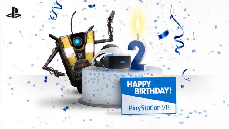PlayStation VR 2nd Anniversary