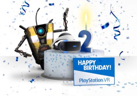 PlayStation VR 2nd Anniversary