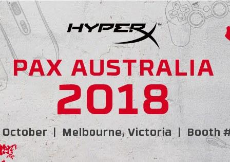 HyperX PAX AUS 2018