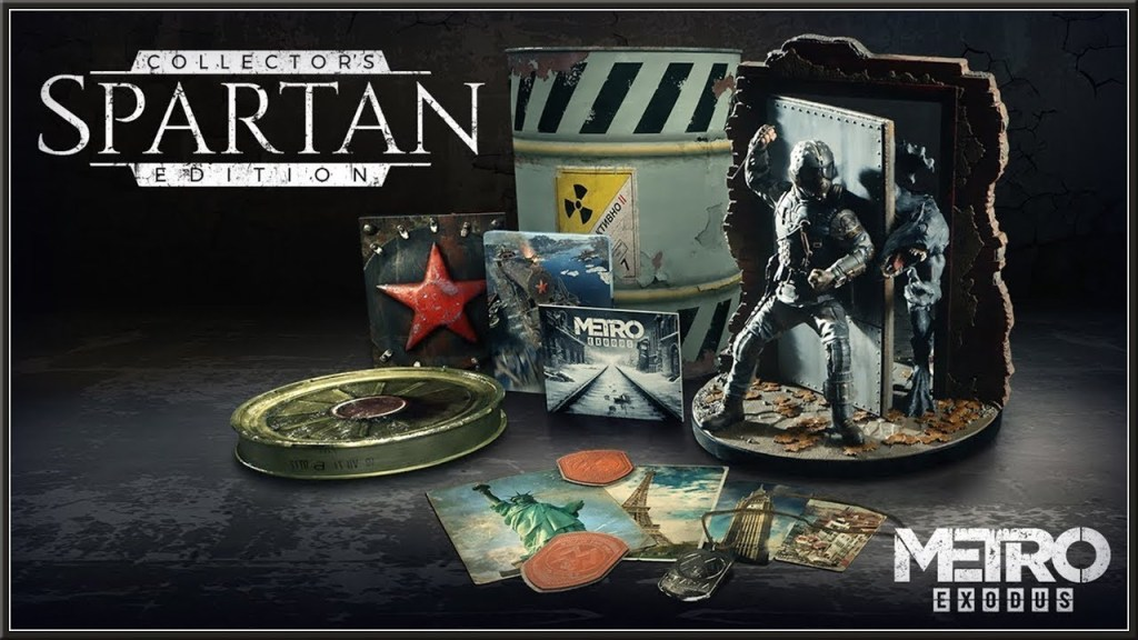 Metro Exodus Spartan Collector's Edition
