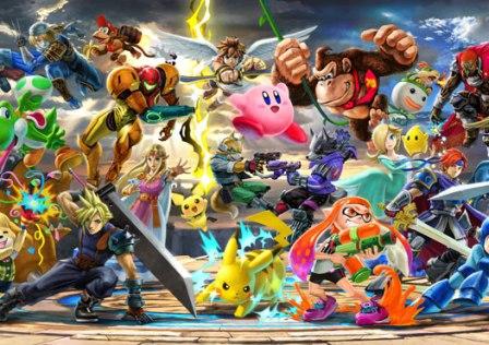 Super Smash Bros. Ultimate - Illustration