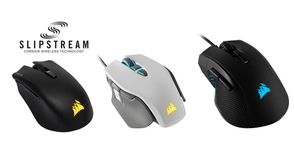 Corsair Slipstream Wireless Technology Mice