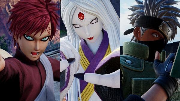 Naruto Characters Jump Force