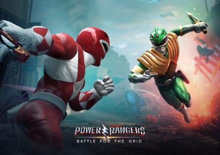 Power Rangers - Battle for Grid
