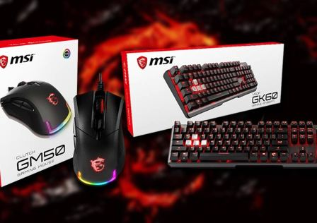 MSI GK60 Keyboard and GM50 Mouse