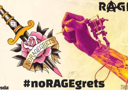 #noRAGEgrets