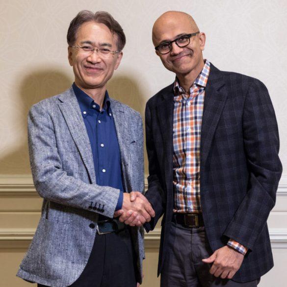 Microsoft and Sony