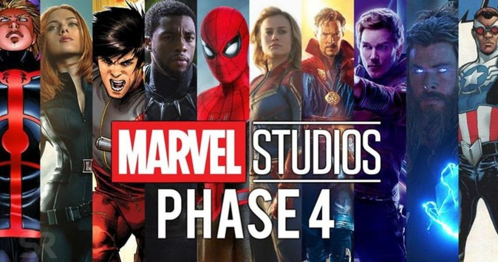 Marvel Phase 4 SDCC 2019