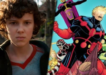 Millie Bobby Brown The Eternals