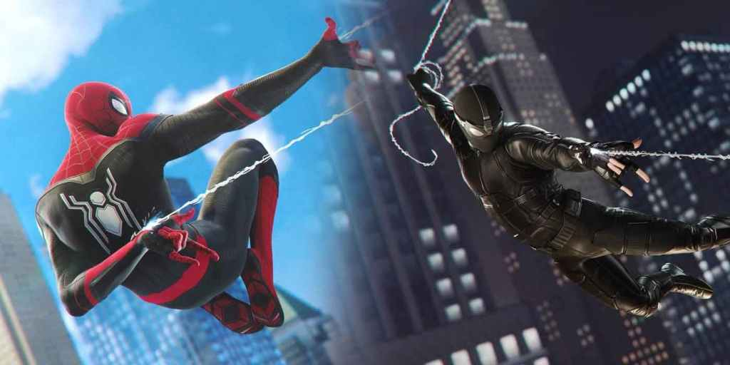 Spider-Man Far From Home Suits