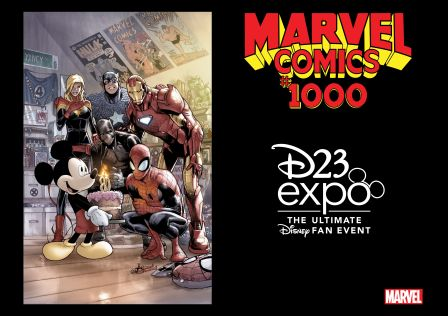 Mickey Mouse Marvel D23