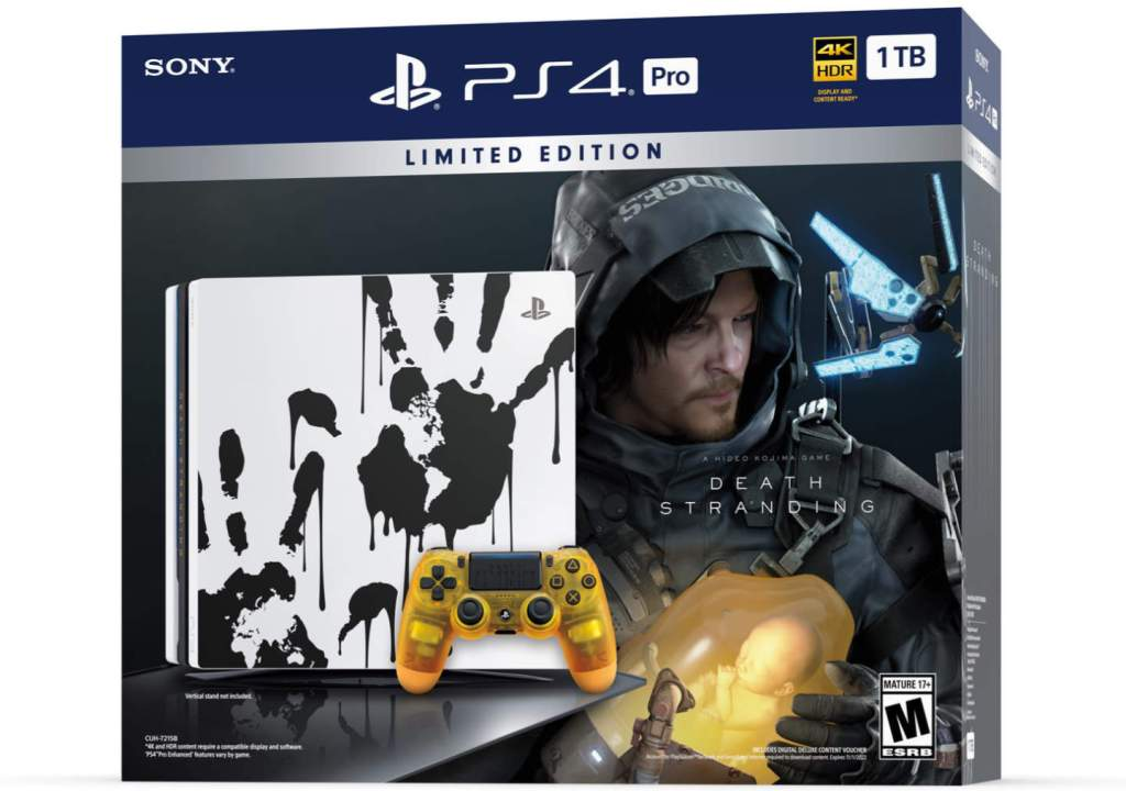 Death Stranding PS4 Console