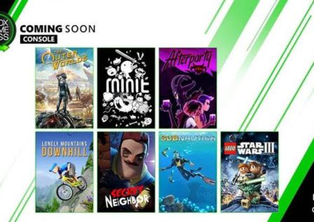 October Xbox game pass