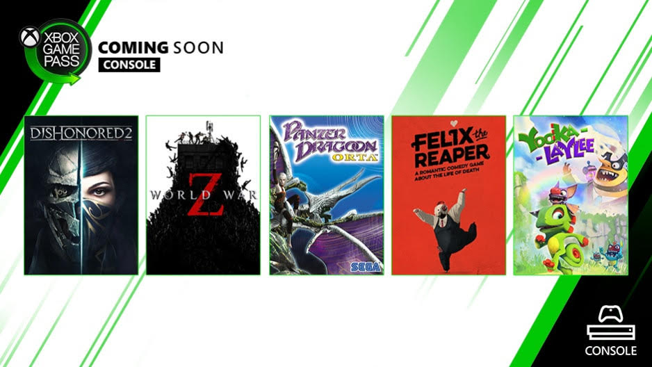 Xbox Game Pass October