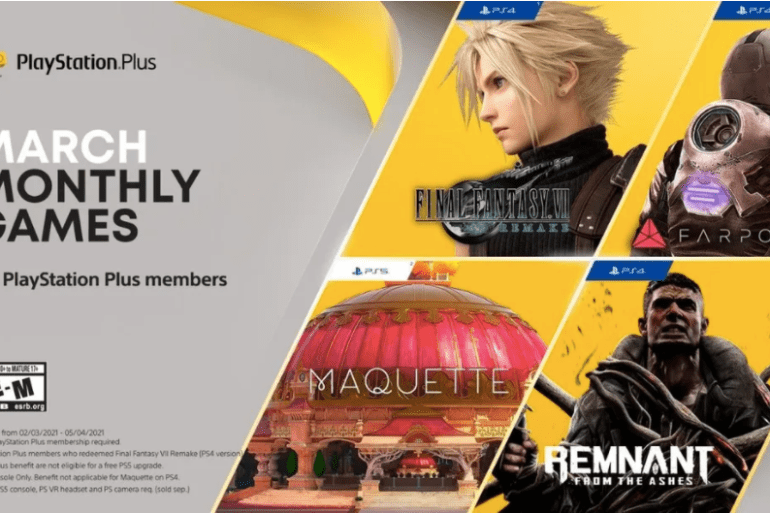 PS Plus March Games