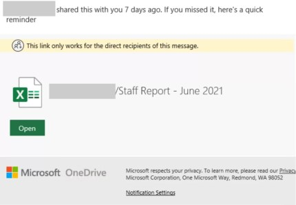 The new phishing campaign uses Excel HTML invoices.