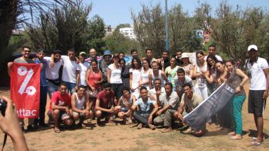 صورة تقرير أولي حول المشاركة النسائية لمناضلات جمعية أطاك المغرب في أنشطة المخيم الصيفي  بمدينة مولاي بوسلهام