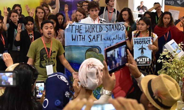 """صورة حراك """"العدالة المناخية""""… يهز شمال إفريقيا ويطبخ """" ثورة كفاحية"""" على نارِ هادئة"""