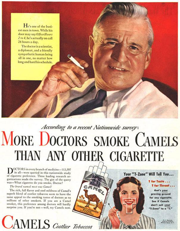 Cigarety lekárov