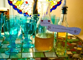 Homemade Honey Syrup and St. Germain