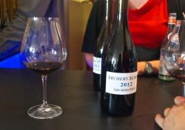 Super secret wine tasting of Archery Summit pinot noir