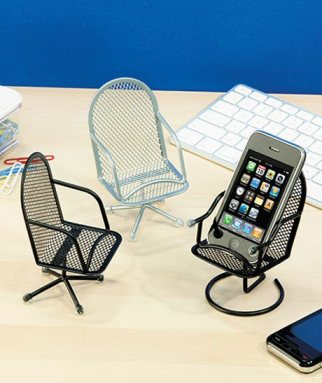 Office Chair Cell Phone Holders from the Lakeside Collection
