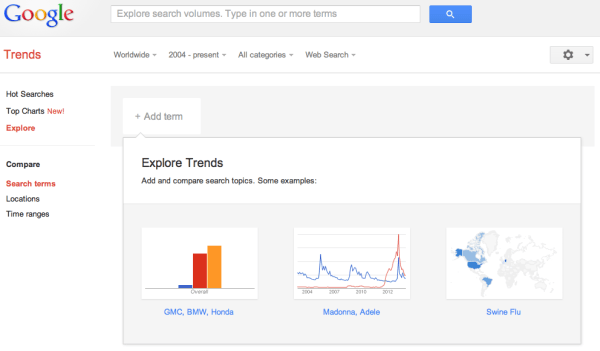 Google Trends Helps You See Popular Keywords and Which Ones are Rising in Popularity
